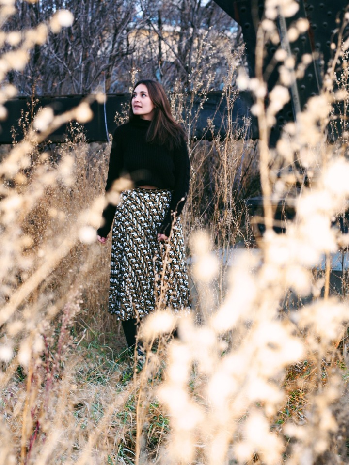 The Sweater and Skirt: FallEdition