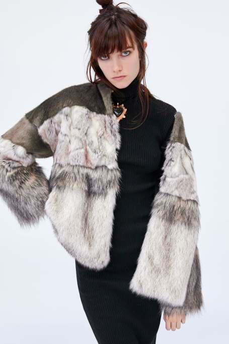 Faux Fur Zara